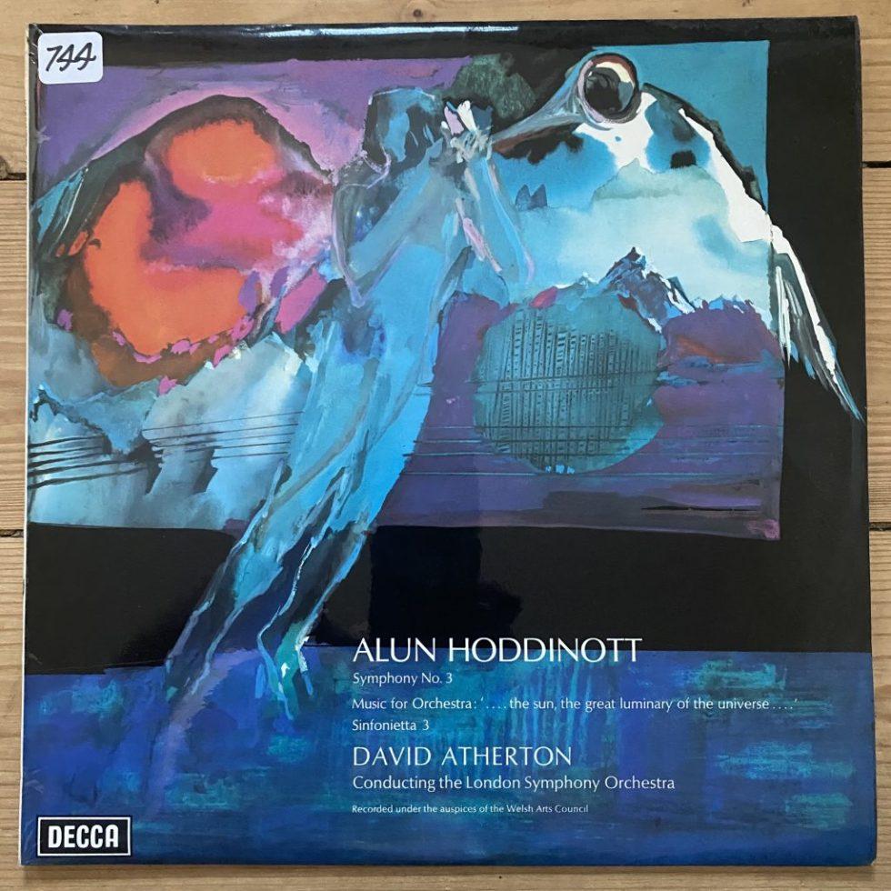 SXL 6570 Alun Hoddinott Symphony No. 3 etc. / Atherton / LSO