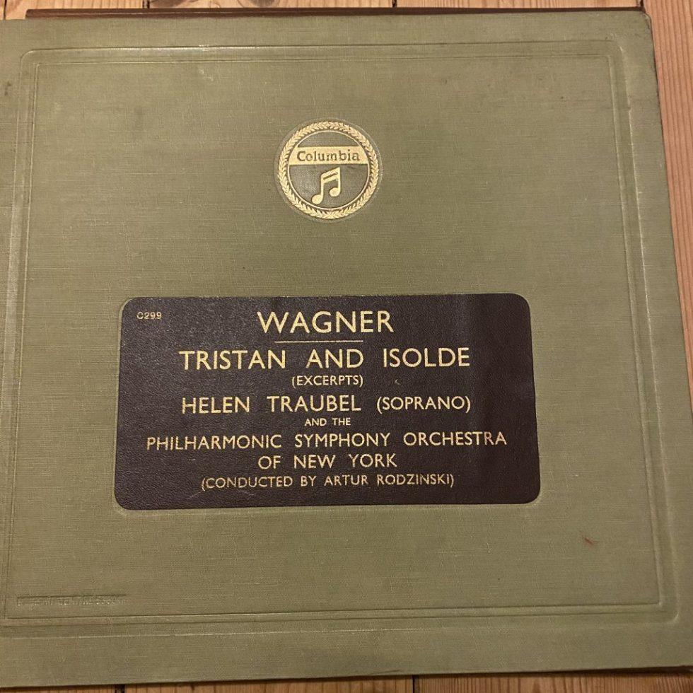LX 8517/21 Wagner Tristan & Isolde Excerpts / Helen Traubel