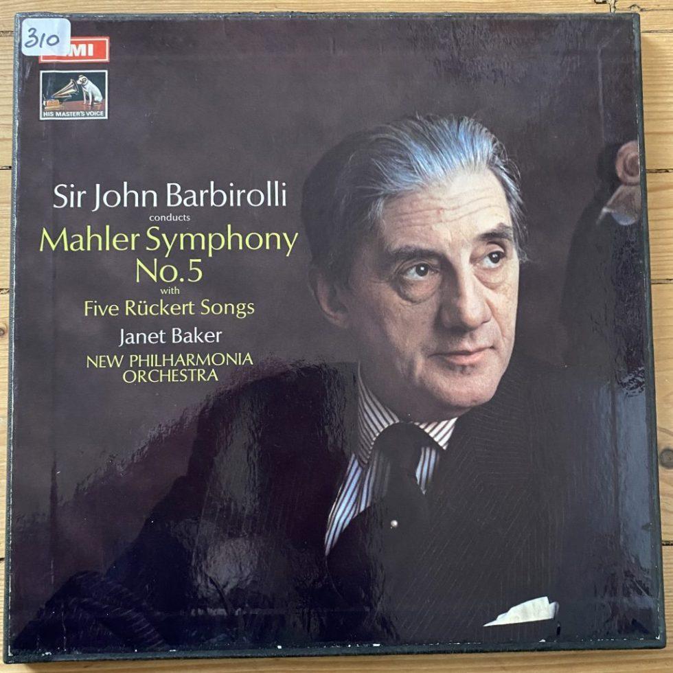 ASD 2518-9 Mahler Symphony No. 5 / Barbirolli