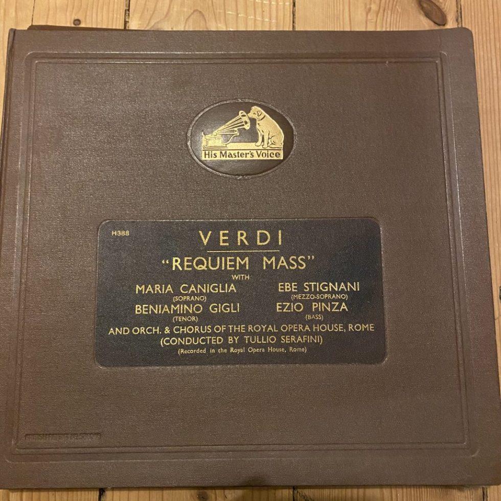 DB 8984//93 Verdi Requiem / Caniglia, Gigli, etc / Serafin