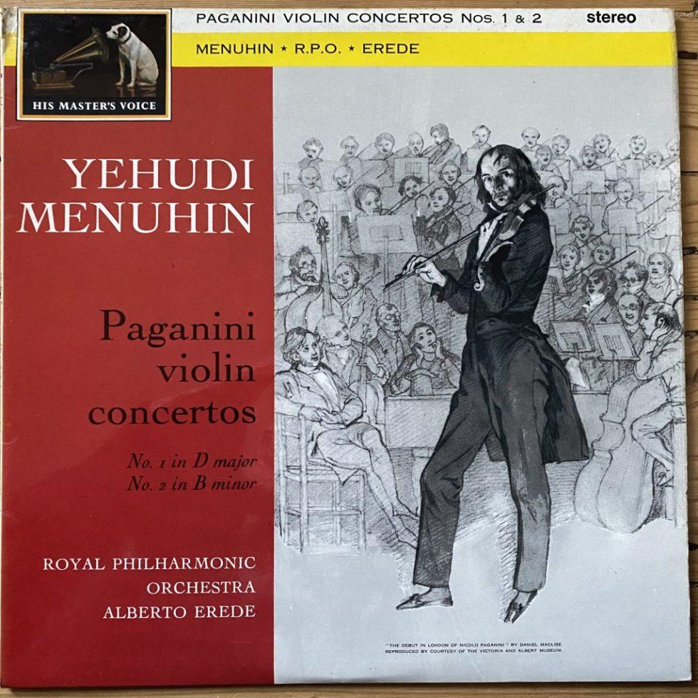 ASD 440 Paganini Violin Concertos 1 & 2 / Menuhin / Erede