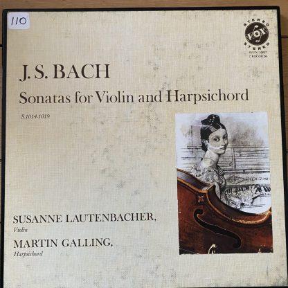 SVUX 52027 Bach Sonatas for Violin & Harpsichord