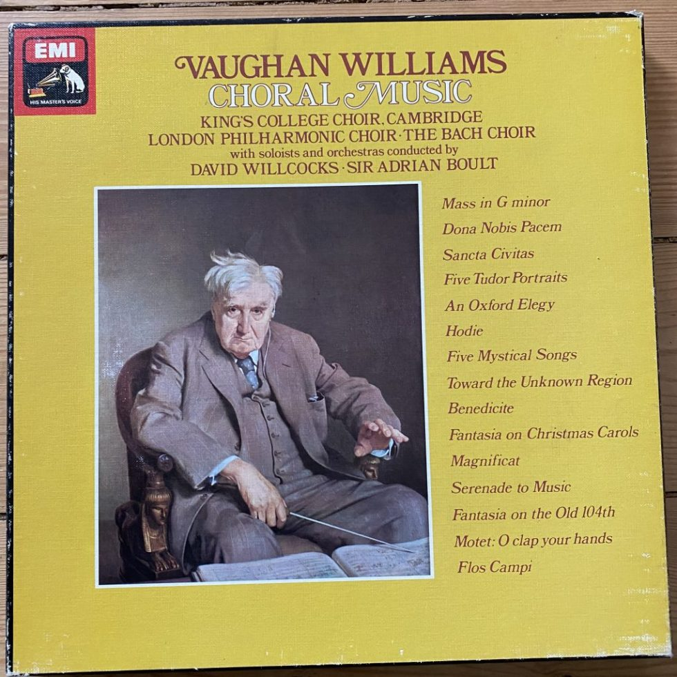 SLS 5082 Vaughan Williams Choral Music
