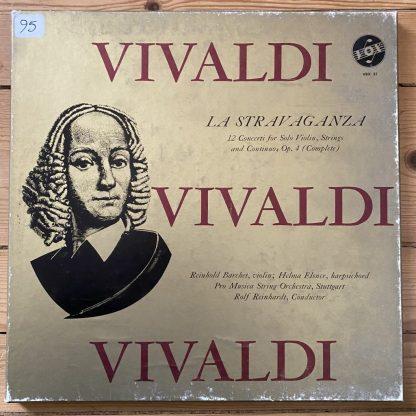 VBX 31 Vivaldi La Stravaganza 12 Concerti for solo Violin