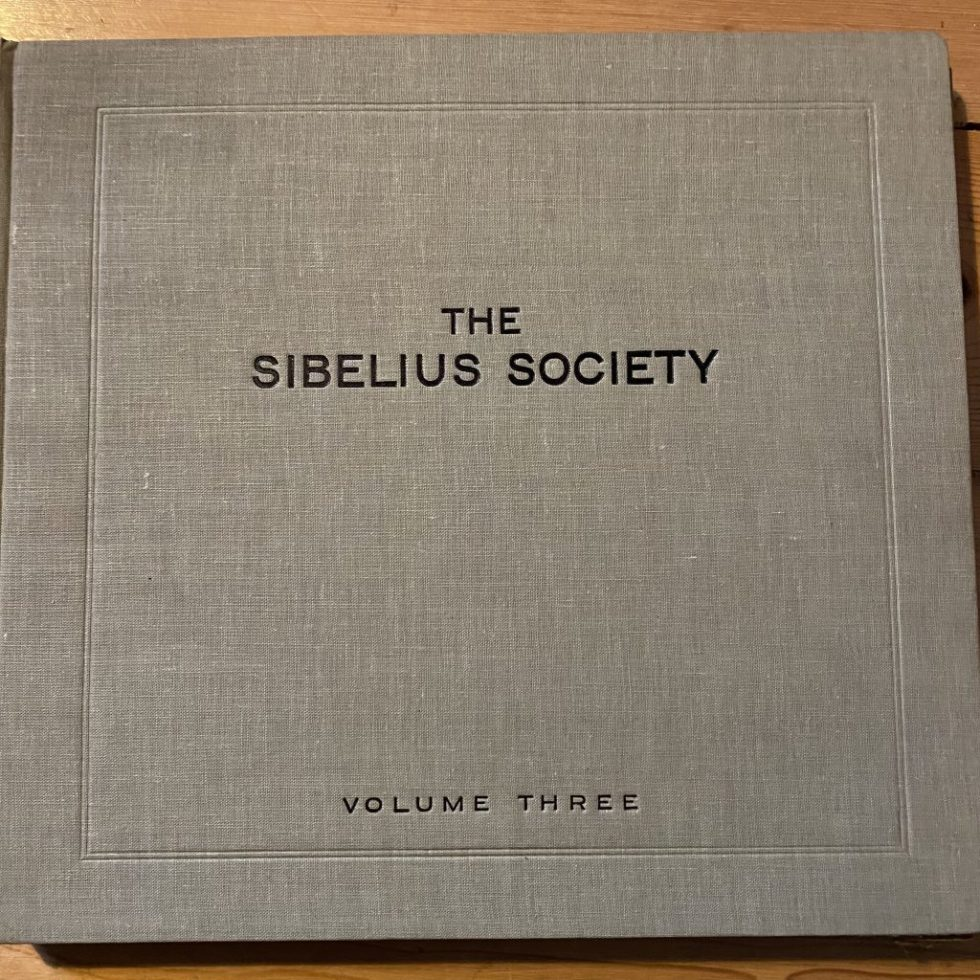 DB 7726/32 Sibelius Society Volume 3