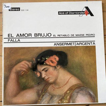 SDD 134 Falla El Amor Brujo / El Retablo de Maese Pedro