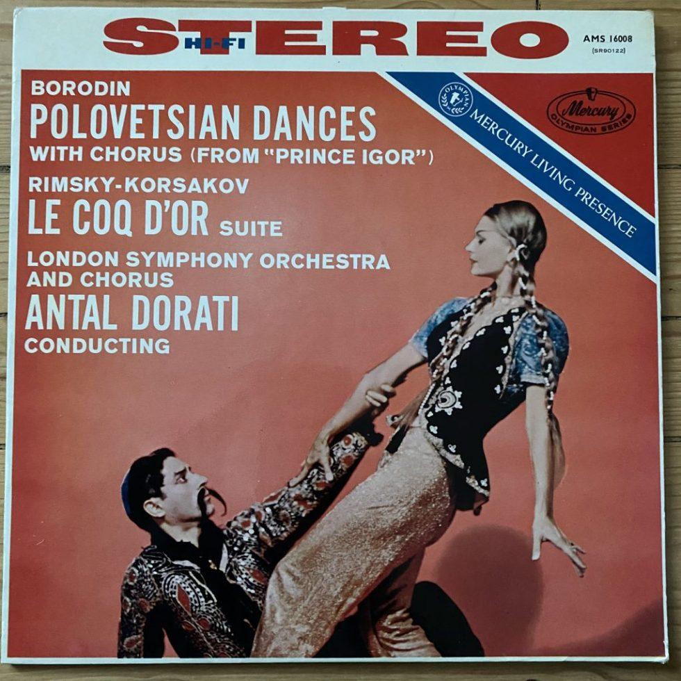 AMS 16008 Borodin / Rimsky-Korsakov / Dorati P/S