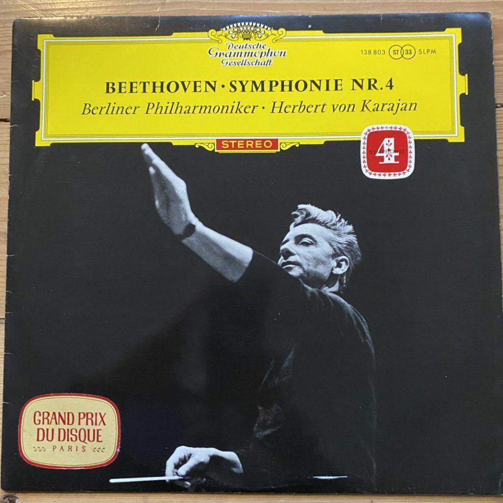 138 803 Beethoven Symphony No. 4 / Karajan / BPO TULIP