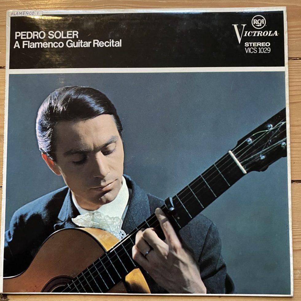 VICS 1029 Pero Soler A Flamenco Guitar Recital