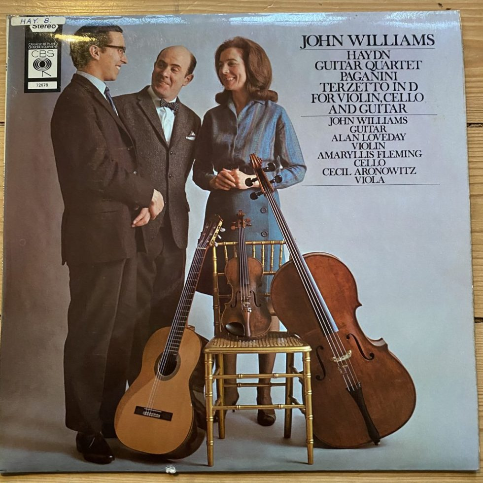 CBS 72678 Haydn Guitar Quartet