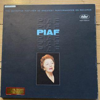 TBL 2193 The Definitive Piaf - Her 22 Greatest Performances 2 LP set