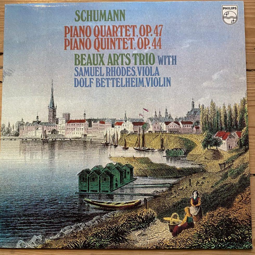 9500 065 Schumann Piano Quintet Op. 47 / Piano Quintet Op. 44 / Beaux Arts Trio