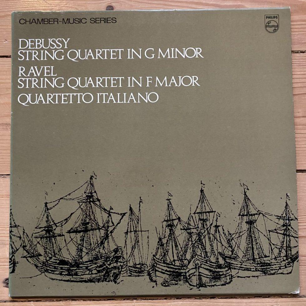 SAL 3643 Debussy / Ravel String Quartets / Quartetto Italiano