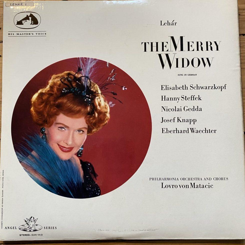 SAN 101-2 Lehar The Merry Widow / Schwarzkopf / Von Matacic White Angel