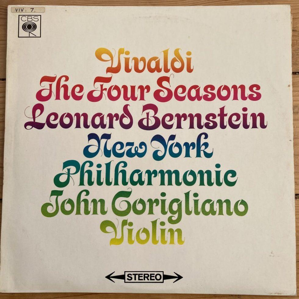 SBRG 72363Vivaldi The Four Seasons / John Corigliano / Bernstein