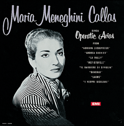 33CX 1251 Maria Callas Sings Operatic Arias