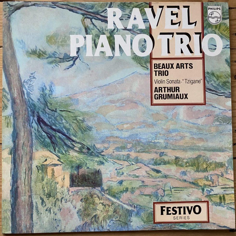6570 177 Ravel Piano Trio / Violon Sonata, Tzigane / Arthur Grumiaux