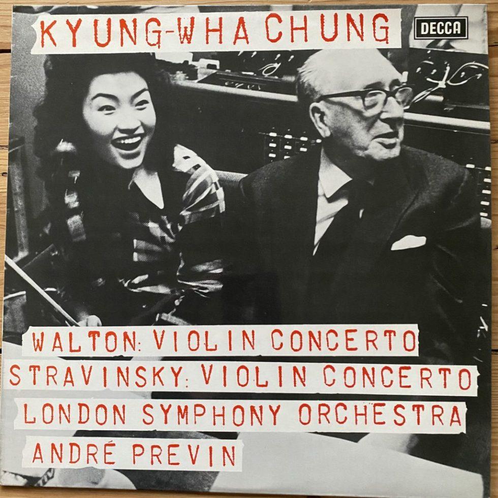 SXL 6601 Walton / Stravinsky Violin Concertos