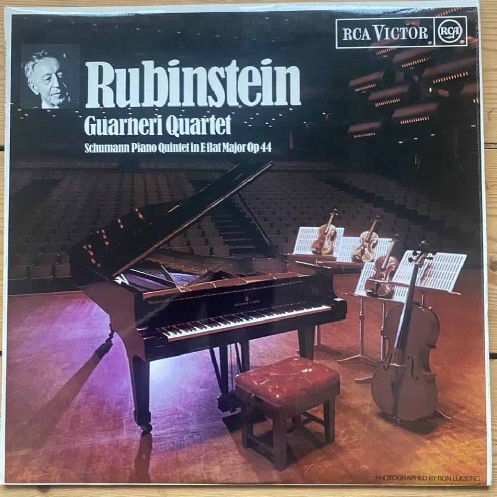 SB 6760 Schumann Piano Quintet in E Flat Major / Rubenstein / Guarneri Quartet