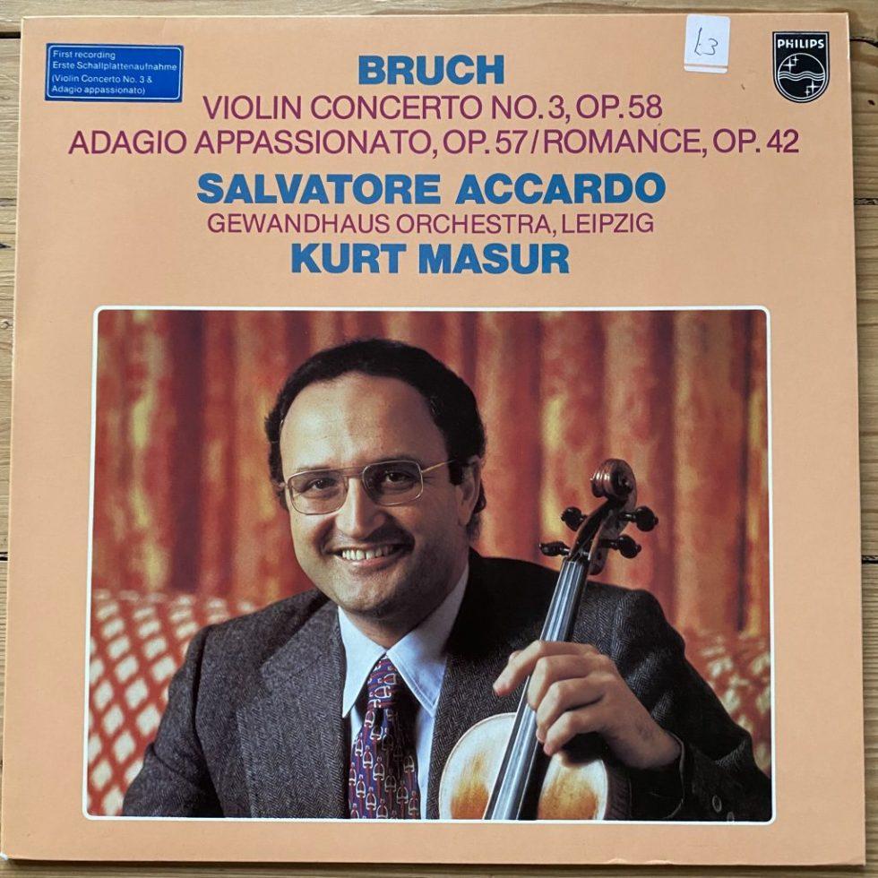 9500 590 Bruch Violin Concerto No.3, etc.