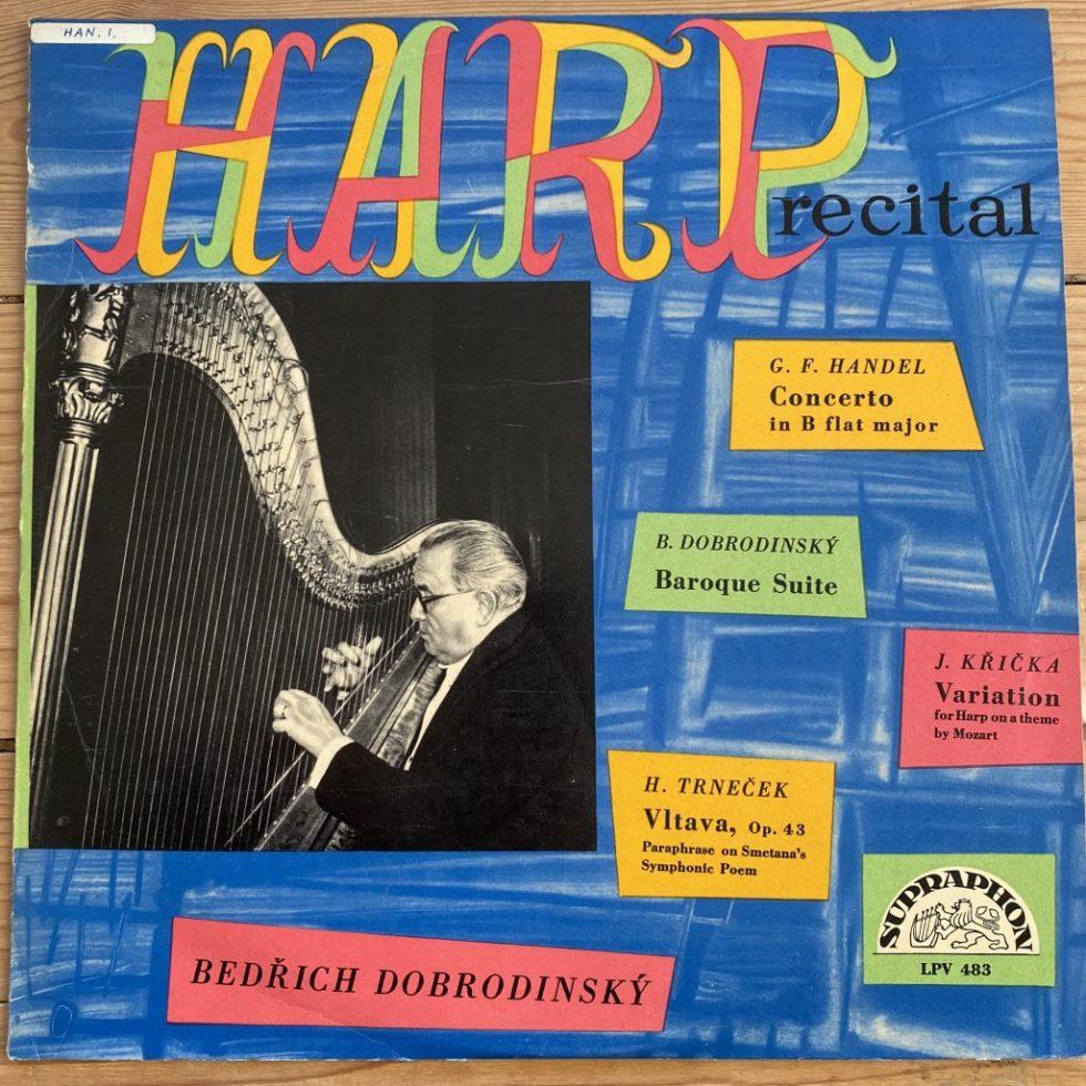 LPV 483 Bedrich Dobrodinsky Harp Recital