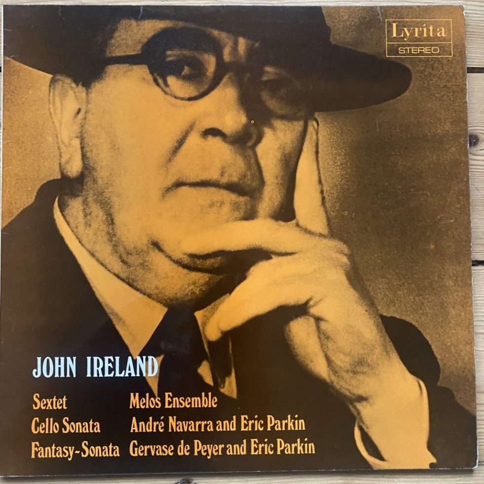 SRCS 59 Ireland Sextet / Cello Sonata / Fantasy Sonata / Parkin / Melos Ensemble