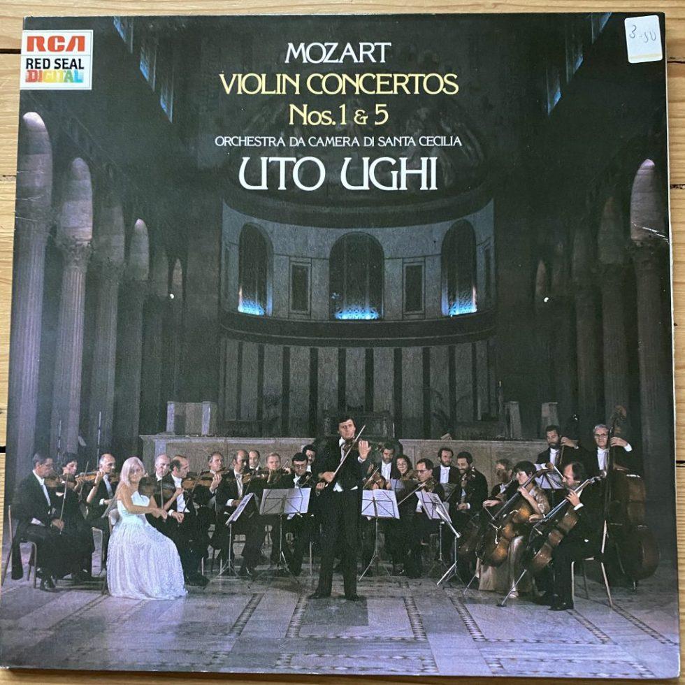 RL 70933 Mozart Violin Concertos