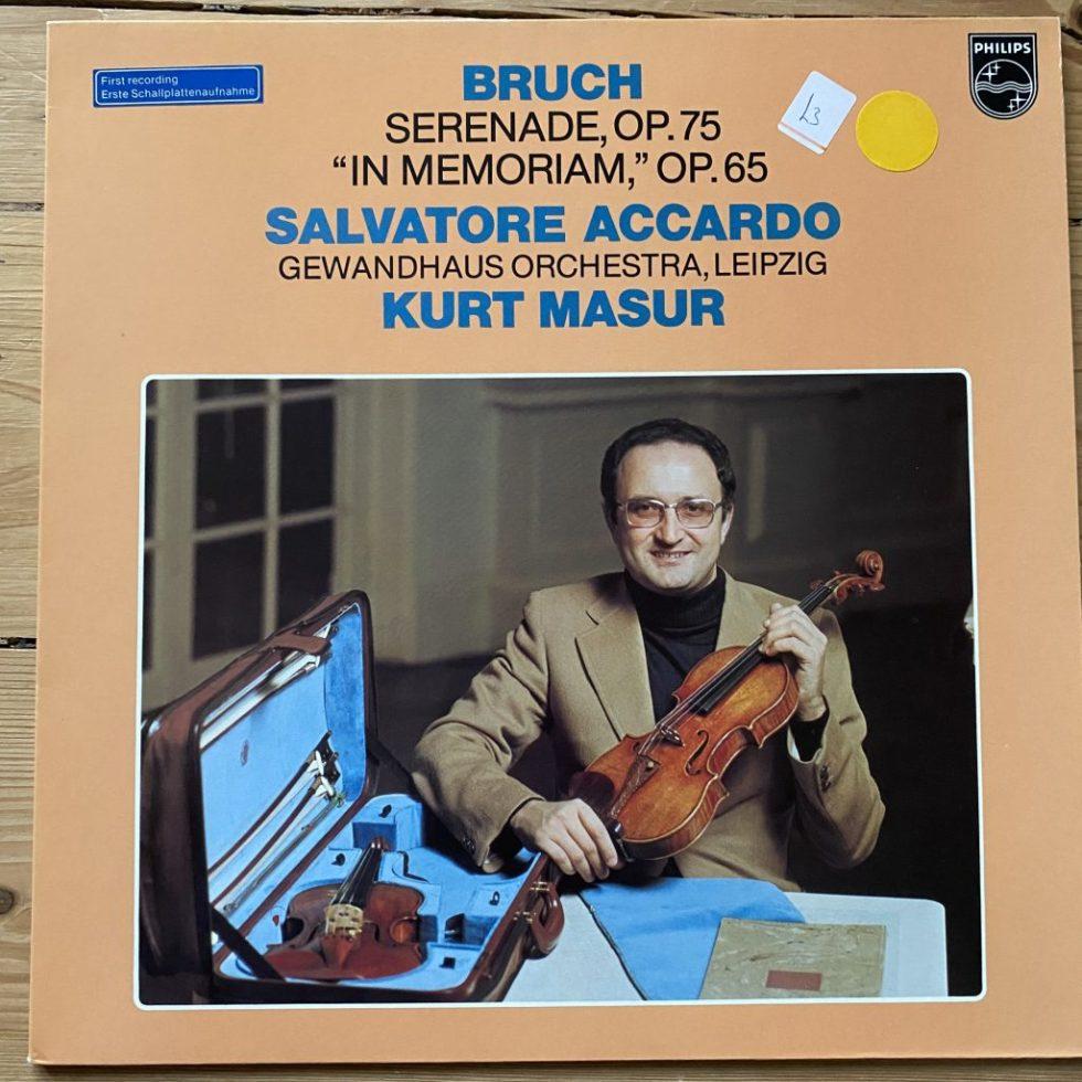 """9500 590 Bruch Serenade Op. 75, """"In memoriam"""" Op.65"""