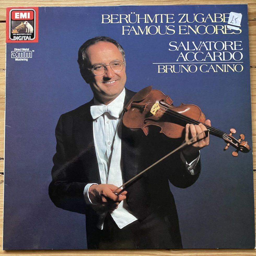 EL 27 0181 1 Famous Encores Salvatore Accardo