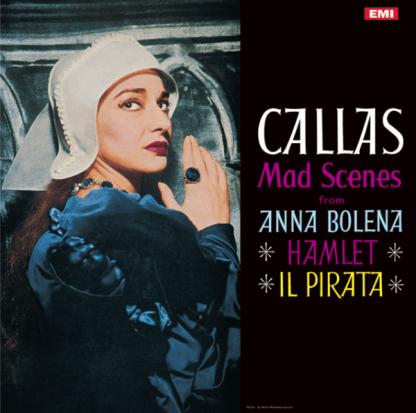 SAX 2320 Maria Callas Mad Scenes / Nicola Rescigno