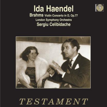 SBTLP 1038 Brahms Violin Concerto / Ida Haendel / Sergiu Celibidache