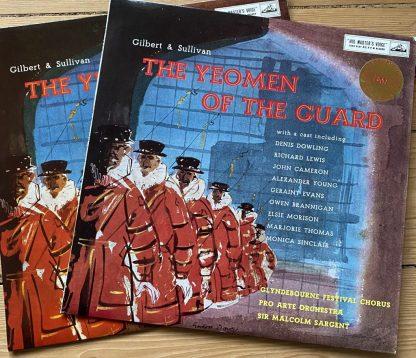 ASD 364-5 Gilbert & Sullivan The Yeomen of the Guard
