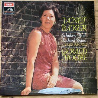 ASD 2431 Schubert / Wolf / Strauss Lieder Recital / Janet Baker S/C