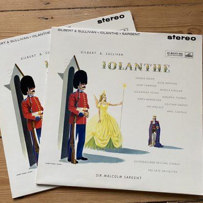 ASD 323/4 Gilbert & Sullivan Iolanthe / Sargent etc. W/G 2 LP set