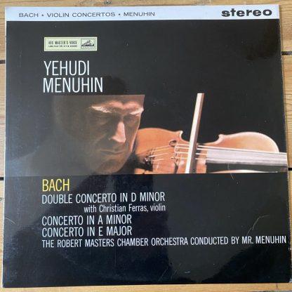 ASD 346 Bach Violin Concertos / Menuhin / Ferras
