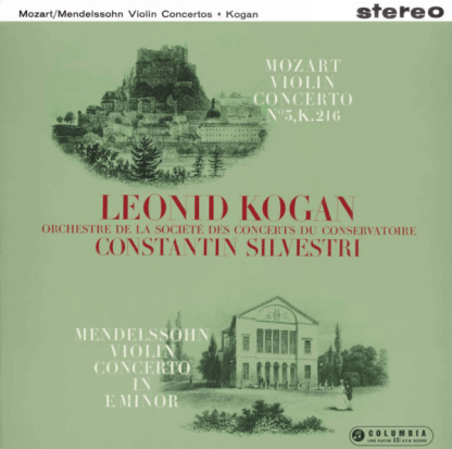 SSAX 1744 Mendelssohn / Mozart Violin Concertos / Leonid Kogan / Silvestri