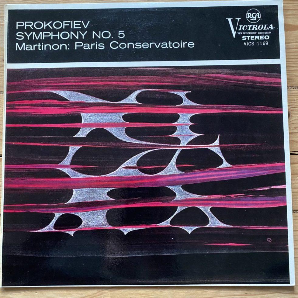 VICS 1169 Prokofiev Symphony No. 5 / Martinon / PCO