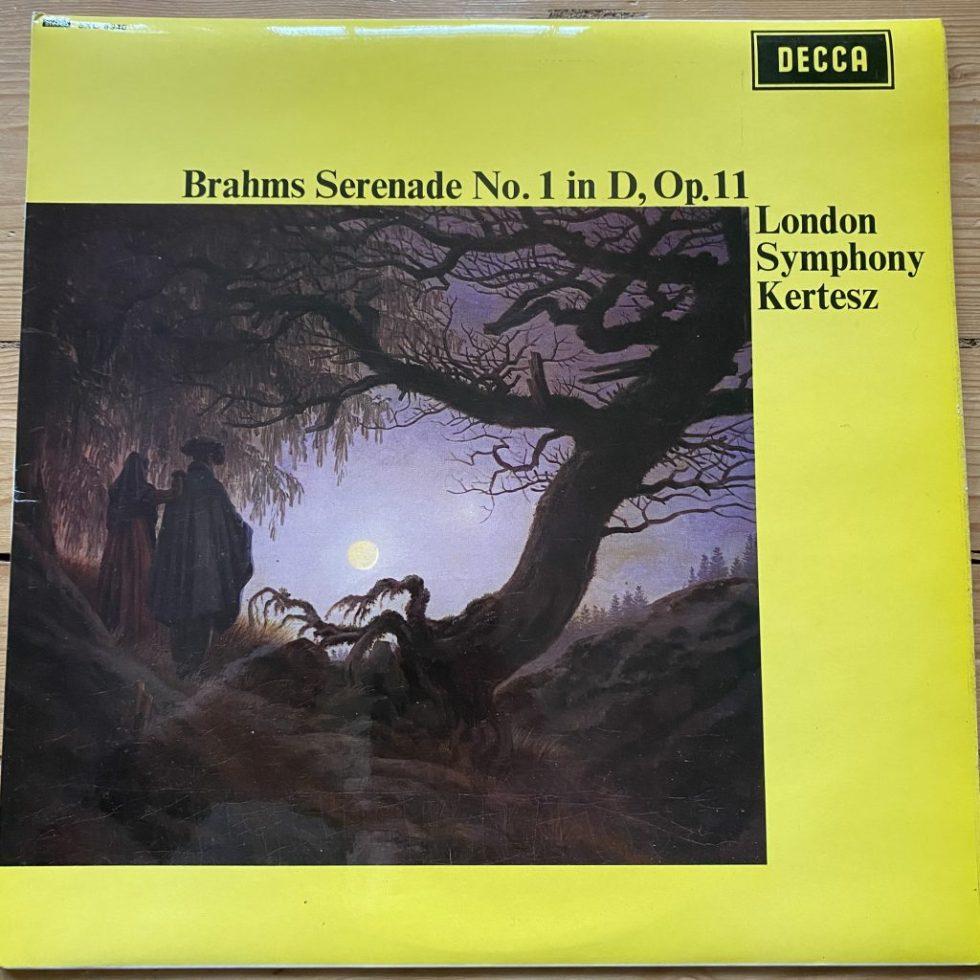 SXL 6340 Brahms Serenade No. 1 in D, Op. 11 / Kertesz / LSO