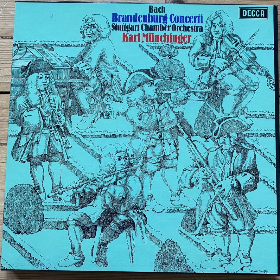 5BB 130/1 Bach Brandenburg Concerti / Munchinger