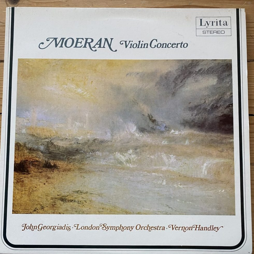 SRCS 105 E. J. Moeran Violin Concerto / John Giorgiadis / Handley / LSO