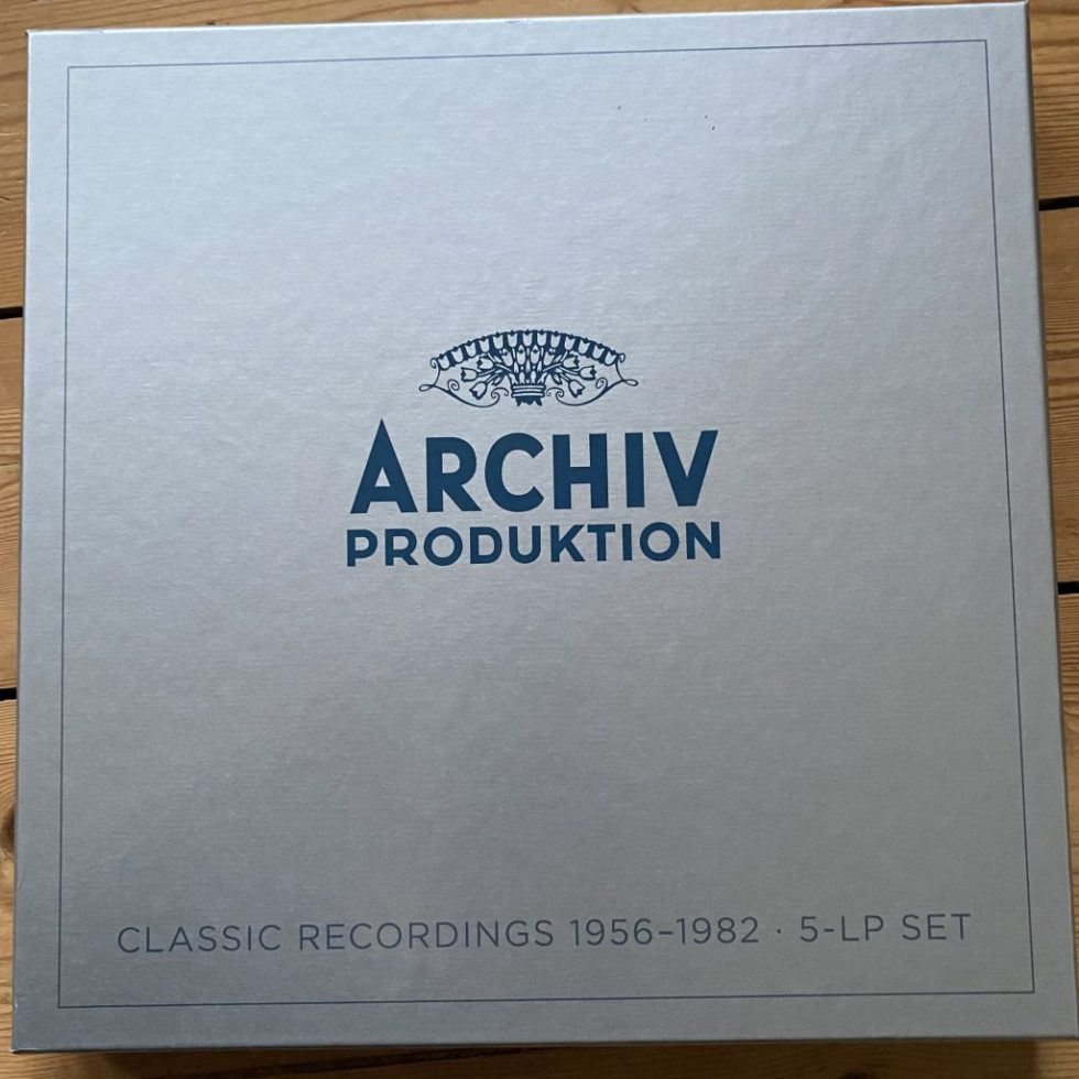 479 1407 Archiv Production Classic Recordings 1956-1982