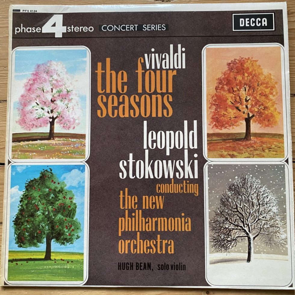 PFS 4124 Vivaldi The Four Seasons / Hugh Bean / Stokowski / NPO