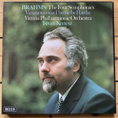 SXLH 6610-13 Brahms 4 Symphonies