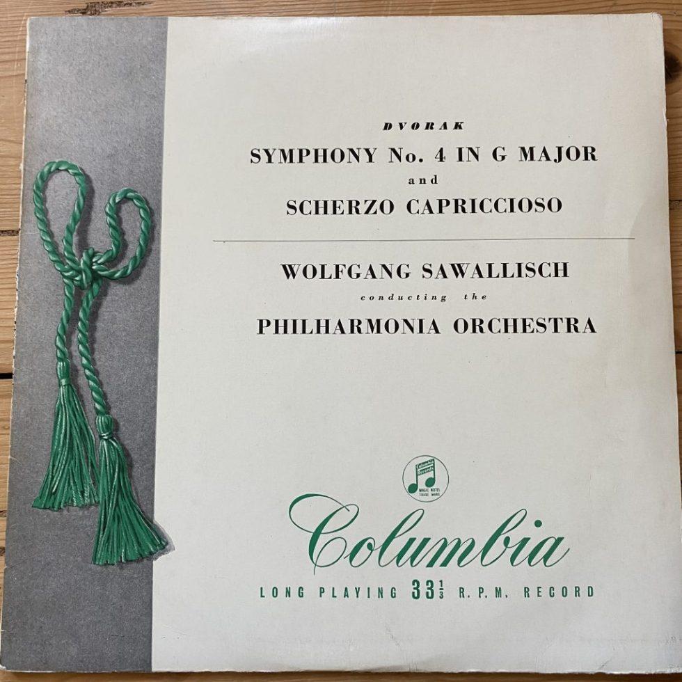 33SX 1034 Dvorak Symphony No. 4 etc. / Sawallisch