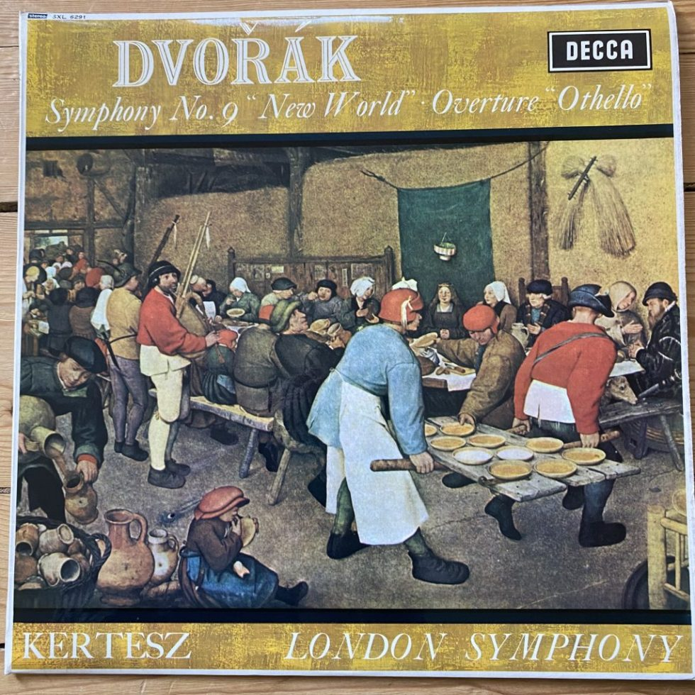 SXL 6291 Dvorak Symphony No. 9 'New World' etc. / Kertesz / LSO