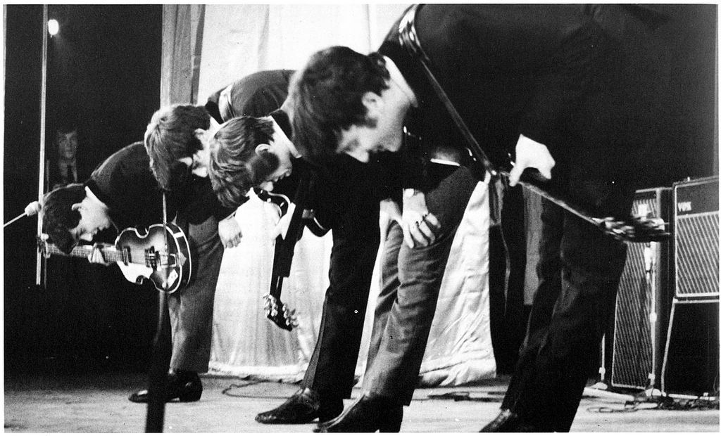 Image result for the beatles bowing