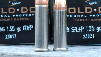 Ammunition for Small .357 Revolvers