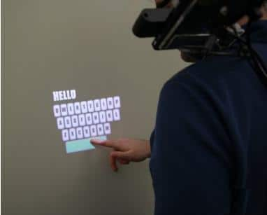 Holographic Touch Screen on Palm is not Science Fiction