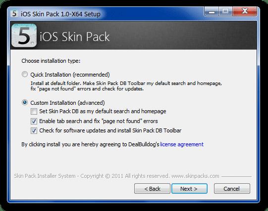 Enjoy iOS 5 Interface on Windows 7 -Free Download Skin-2