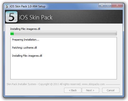 Enjoy iOS 5 Interface on Windows 7 -Free Download Skin-4